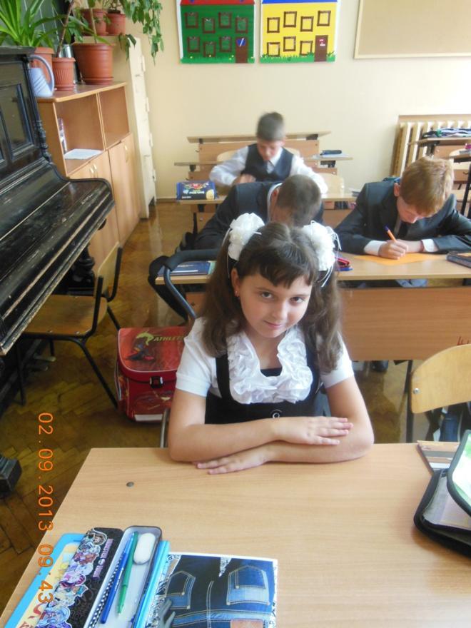 """Ученица 5 """"Г"""" класса лицея №3"""