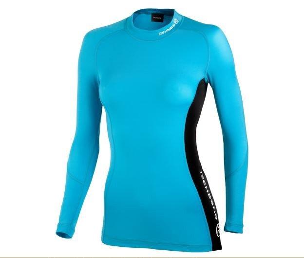 Компрессионная женская футболка Rehband с длинным рукавом, модель 7717, цвет розовый, р-р S и M, цвет бирюзовый, р-р M, обеспечивает поддержку предплечий, трицепсов, бицепсов, грудных и дельтовидных мышц, длинный рукав реглан не стесняет движения. Абс.новая! В официальном магазине стоит 5300р https://ottobock-shop.ru/sport-line/compression_clothes/7717/ 3550р