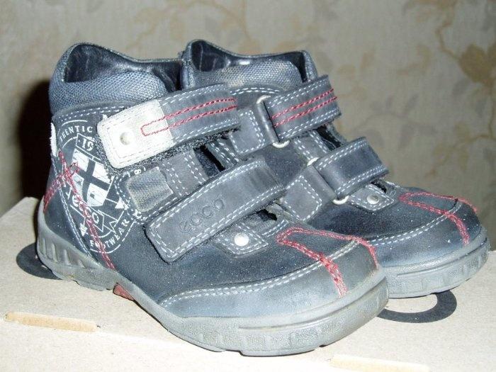 Утепленные ботиночки демисезонные Ecco, 23 р. Отличное состояние. 1000 руб.