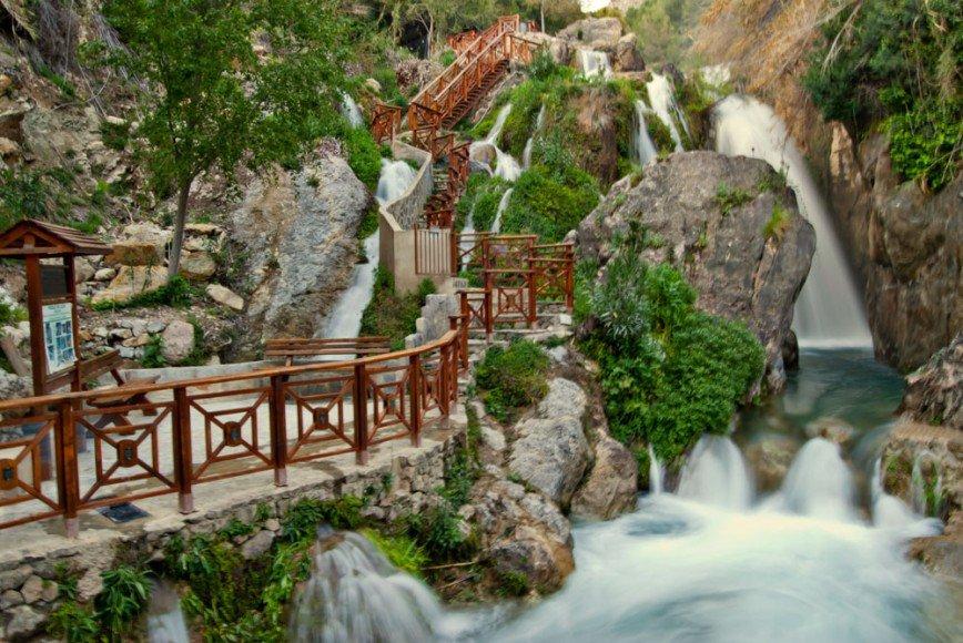 Природный парк Водопады Альгар