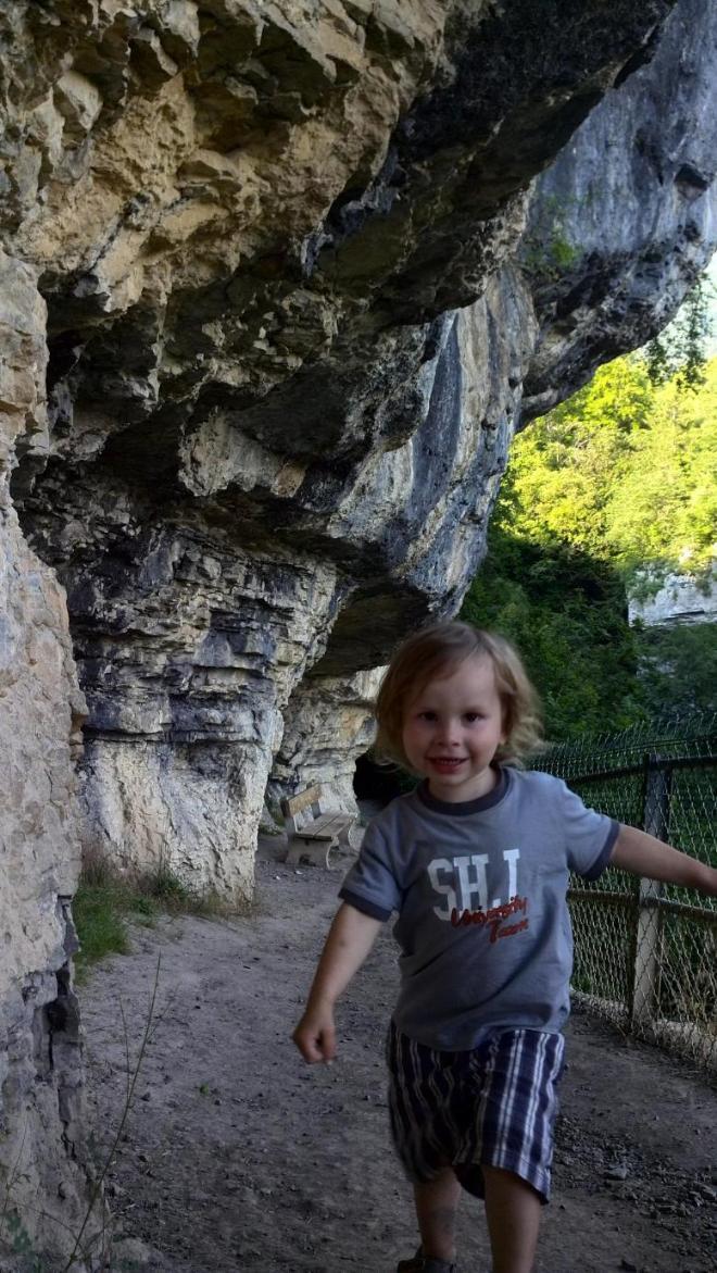Эд в горах