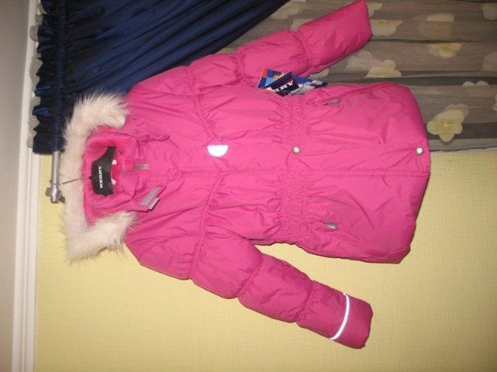 Куртка Керри 134р. Куртка идет на рост дО 134 см. 3800руб дешевле оптовой закупки.