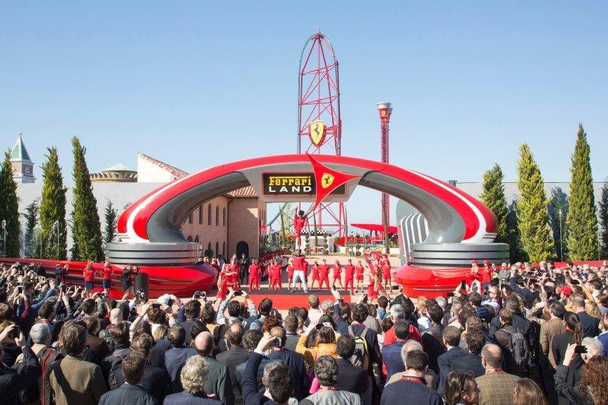 Ferrari Land открывает свои двери