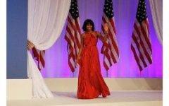 Мишель Обама выбрала платье дизайнера Джейсона Ву