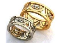 Модные обручальные кольца 2013