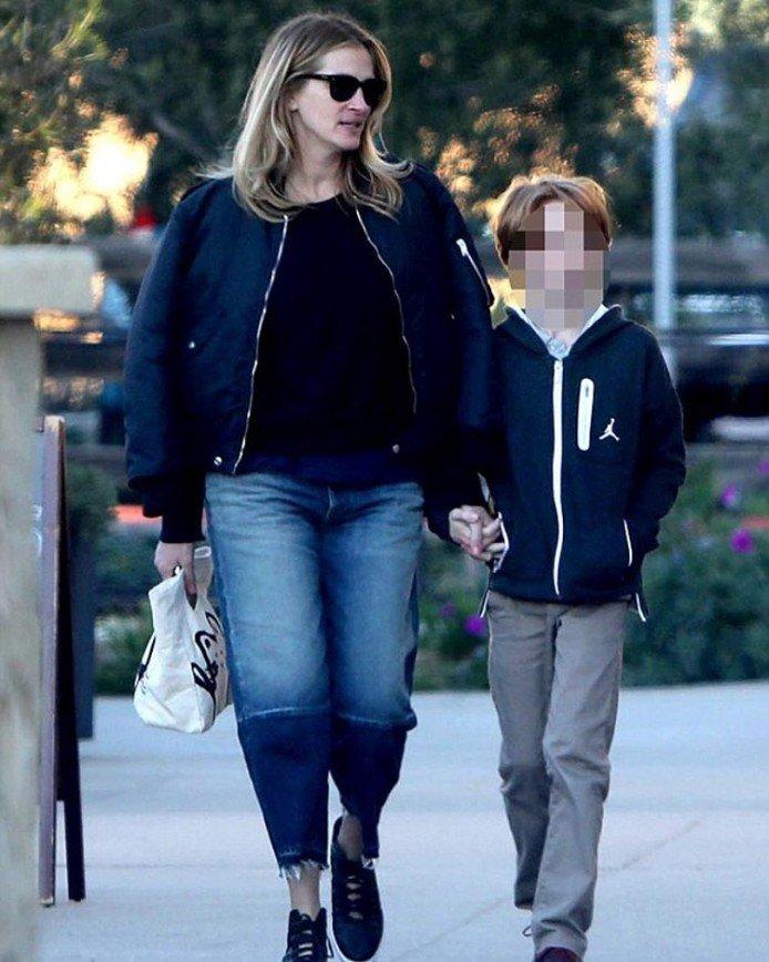 У детей Джулии Робертс разные отцы?