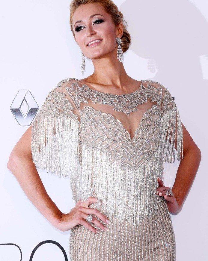 Платье Пэрис Хилтон признали самым безупречным в Каннах