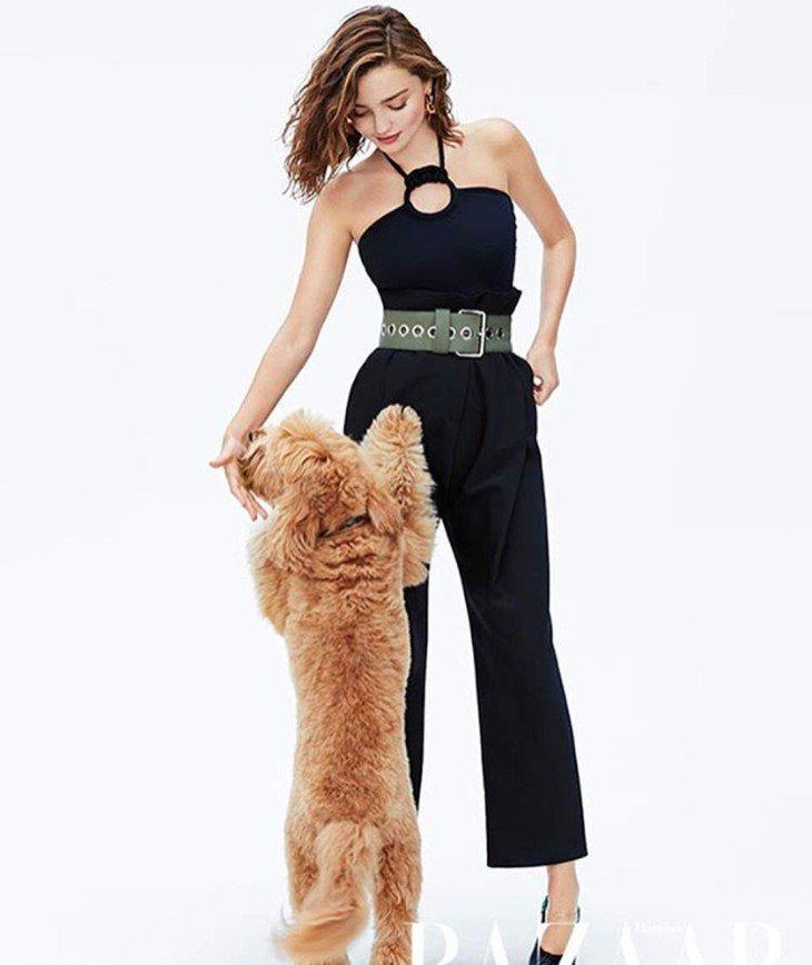 Зафотошопленые колени Миранды Керр представили в новой фотосессии