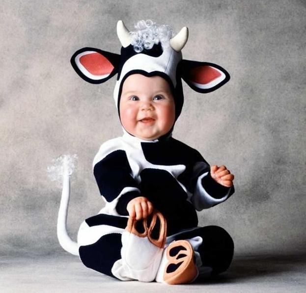 Годовщиной, картинка смешной ребенок в костюме