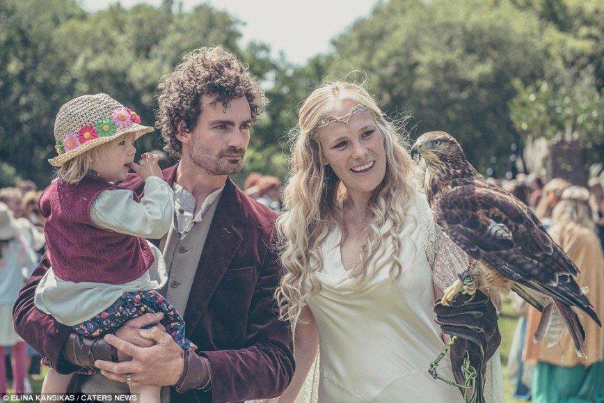 Властелин обручальных колец или хоббит-свадьба в стиле Средиземья