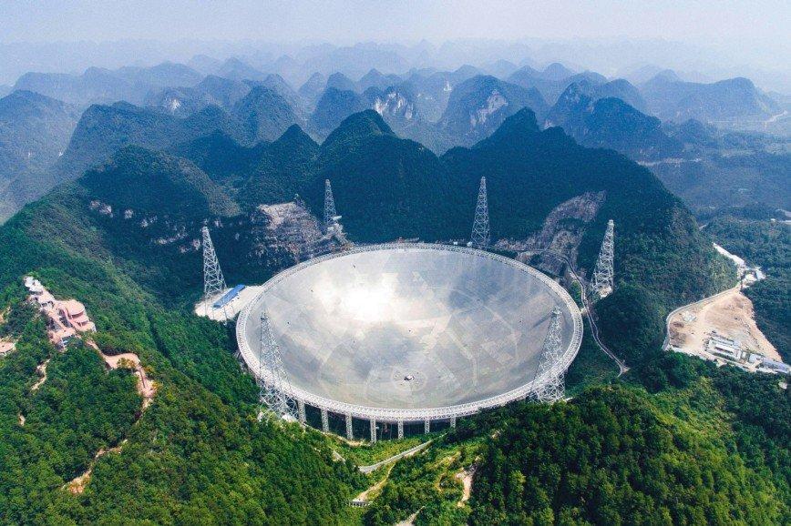 Китай открыл «Глаз неба» для всех желающих