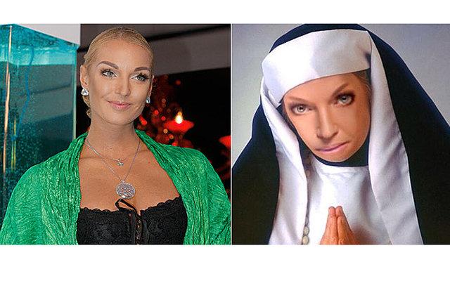 Анастасия Волочкова собралась в мужской монастырь
