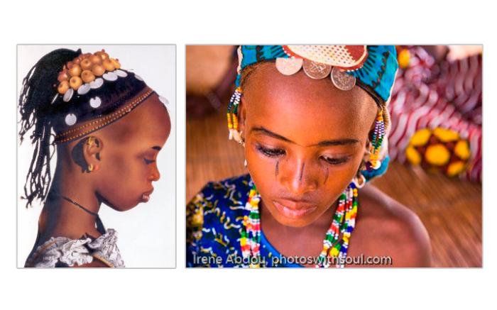 """7 странных стандартов красоты: Этих девочек странные прически ничуть не испортили. Впрочем, о """"странности"""" нам судить не пристало: в Средние века европейские женщины использовали"""