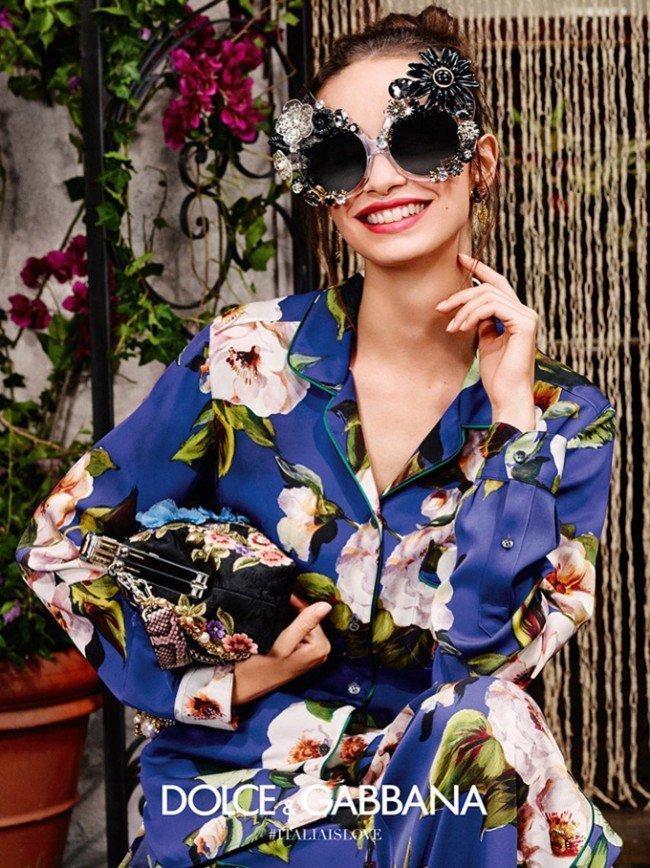 Модные летние очки 2016 от Dolce & Gabbana