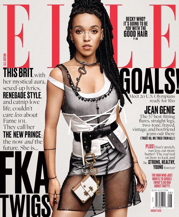 FKA Twigs в ELLE Magazine