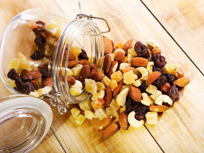 Микс орехи и сухофрукты