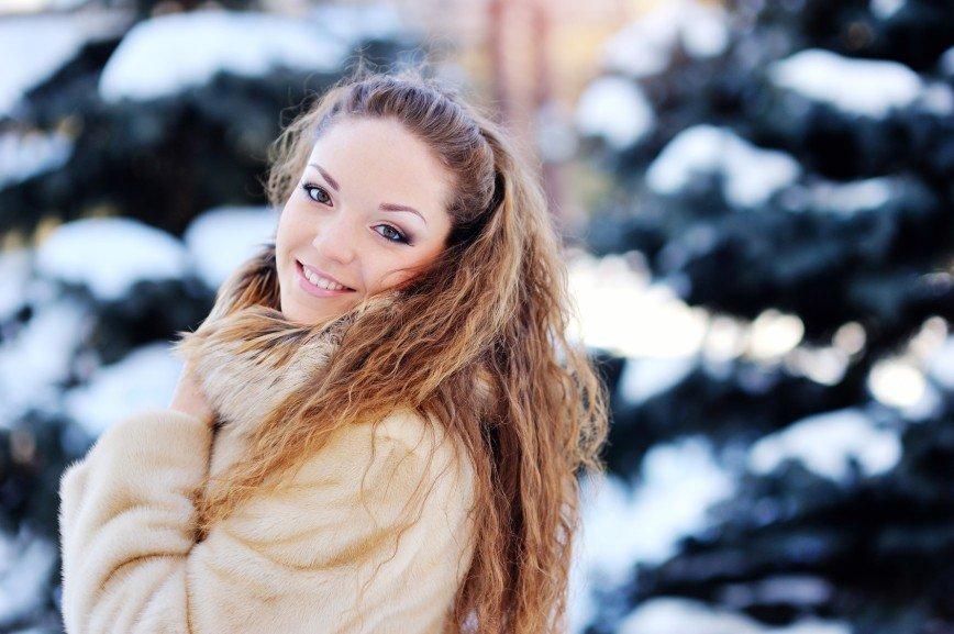 Маски для волос в зимнее время