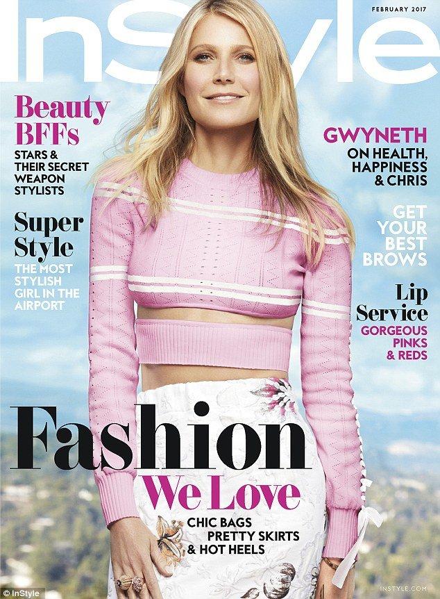 Журнал InStyle украсила американская актриса