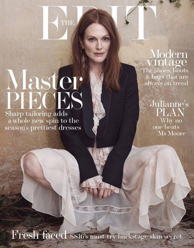 Джулианна Мур в Net-A-Porter's The Edit Magazine
