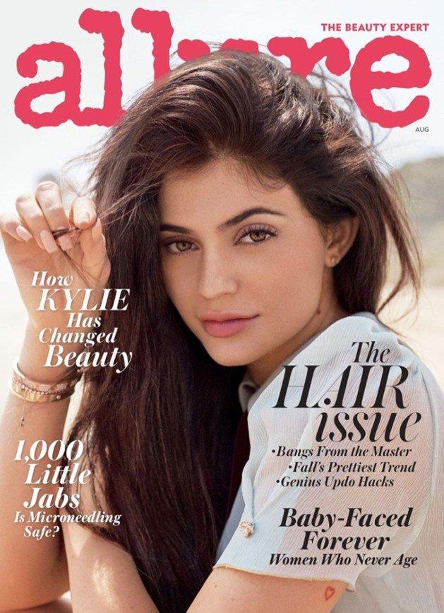 Кайли Дженнер в Allure Magazine