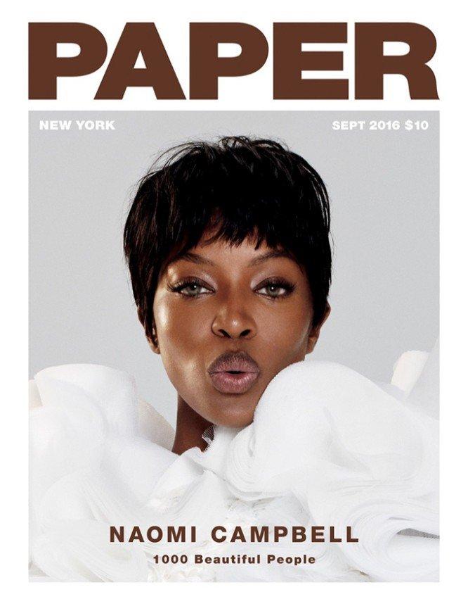 Наоми Кэмпбелл для Paper Magazine