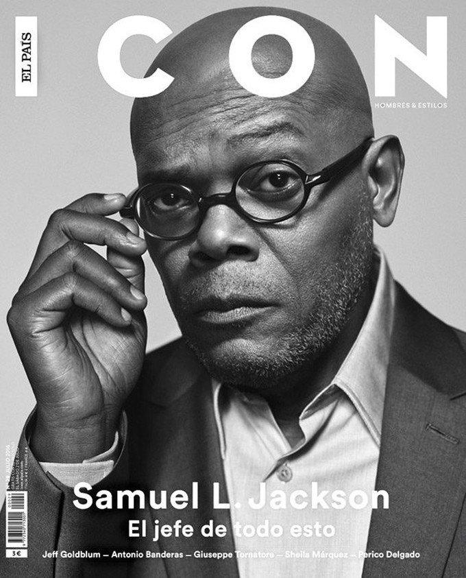 Сэмюэль Л Джексон снялся для El Pais Icon Magazine