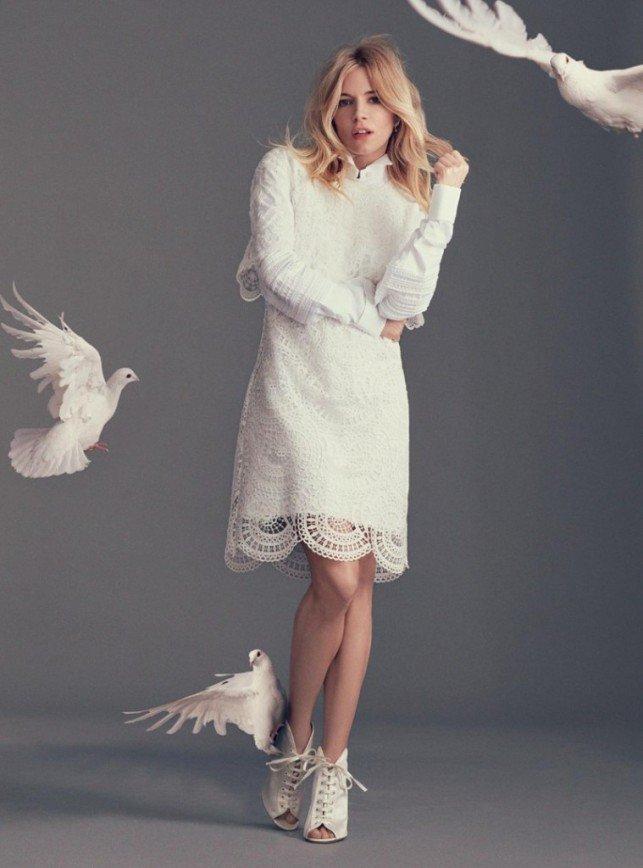 Нежность и голуби с Сиенной Миллер