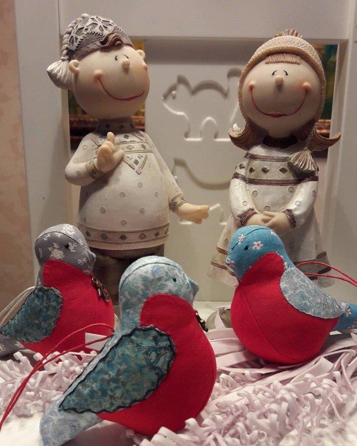 Домашние игрушки для новогодней елки