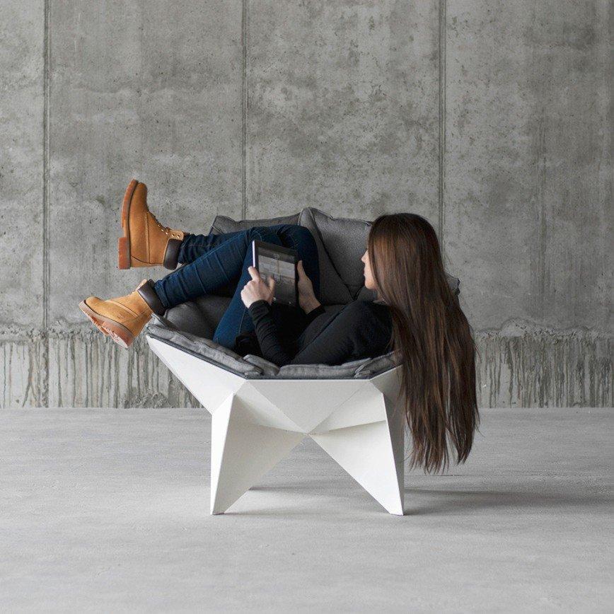 Кресло должно быть не только удобным, но и модным