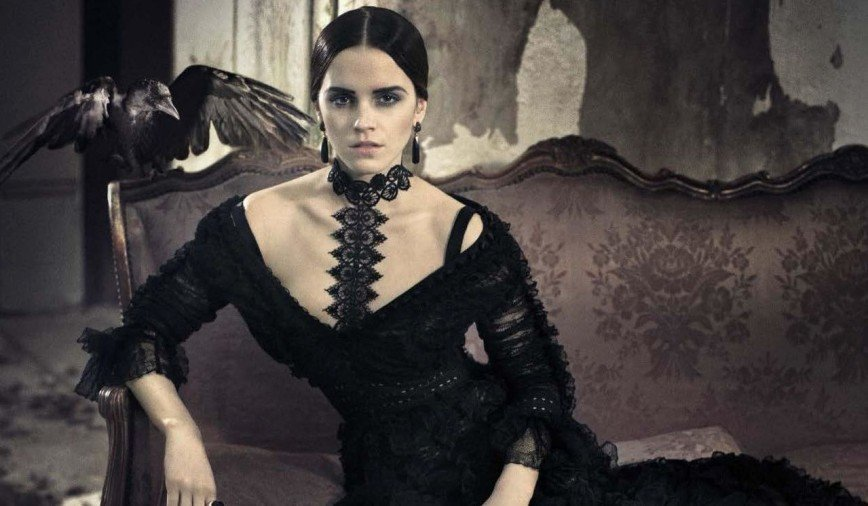 Эмма Уотсон в съемке итальянского Vogue
