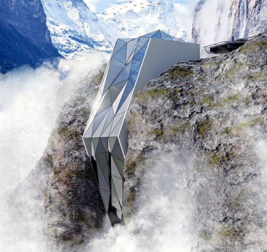 Альпы предложат туристам необычный отель