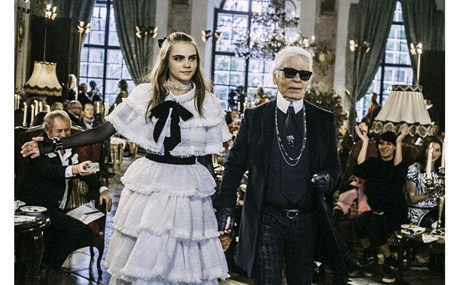 Яркое событие уходящего года - шоу Chanel Pre-Fall 2015