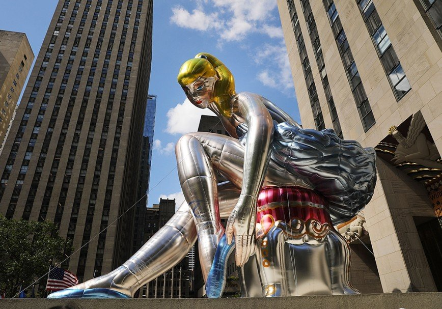 В Нью-Йорке балерина просидит у Рокфеллер-центра до 2 июня
