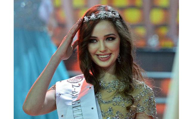 Анастасия Костенко представит Россию на конкурсе «Мисс мира