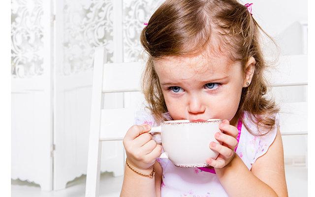 вреден ли чай детям