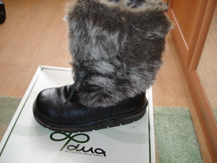 Продаю зимние ботинки 33 р-ра, очень теплые, 700 руб.