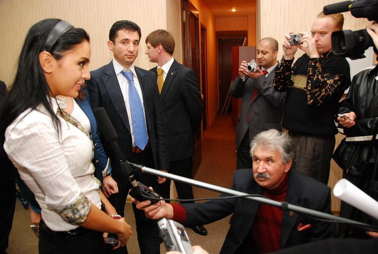 Интервью дочери Президента Азербайджана Лейлы Алиевой