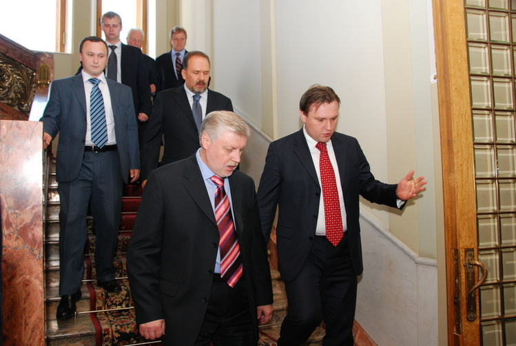 Сергей Миронов в Иванове. 27 мая 2008 года.