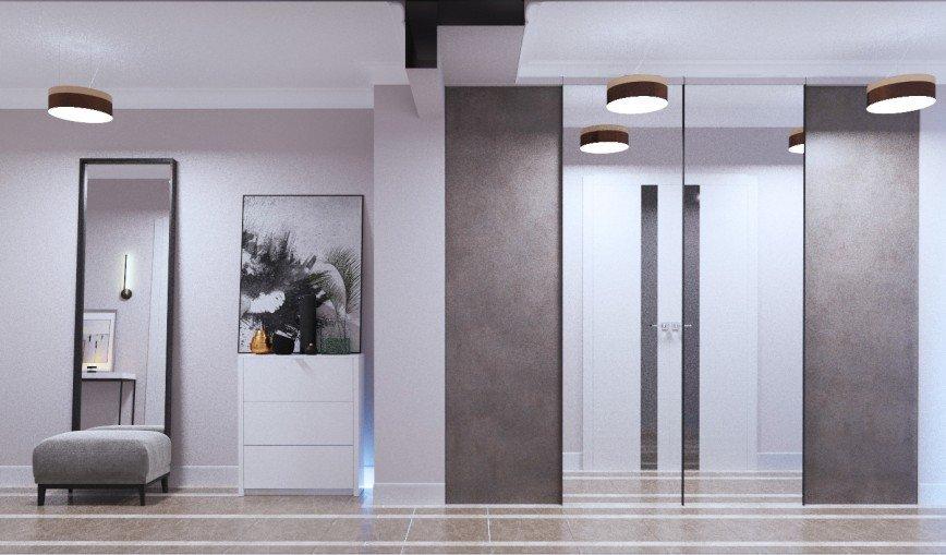 прихожая-коридор/ Дизайн интерьера