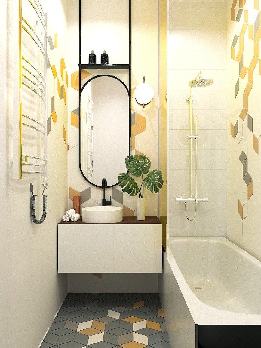 Автор: kristinadesigns, Фотозал: Мой дом, Ванная Дизайн интерьера. 8(916)516-81-45