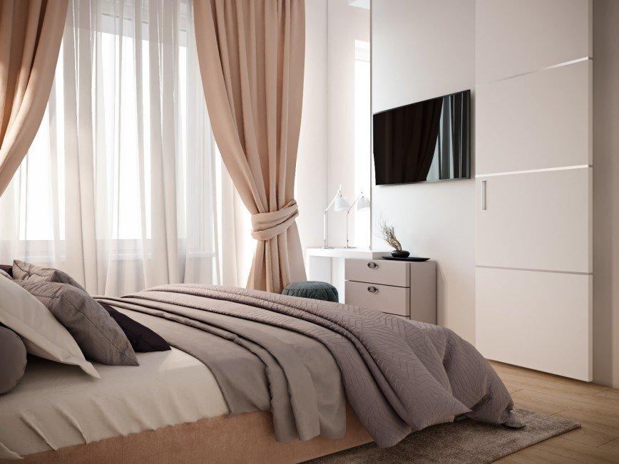 Автор: kristinadesigns, Фотозал: Мой дом, Спальная. Дизайн интерьера. 8(916)516-81-45