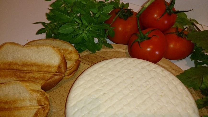 Автор: Cheesman, Фотозал: Рецепты, Это как раз тот самый сыр, который прекрасная альтернатива сыру моцарелла