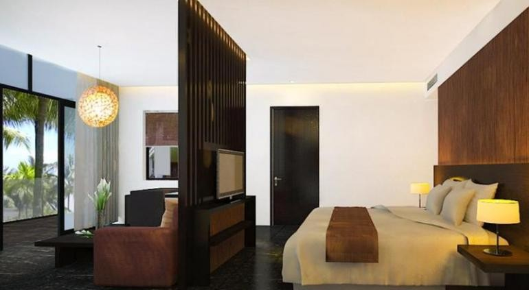 Melia Da nang расположен вдоль береговой линии, курортный отель располагает частным пляжем, большой открытый бассейн, фитнес-центр и красиво ландшафтных садов.Отель расположен на прекрасном долгое 33 км пляжа с белым песком, который считается одним из 10 лучших пляжей Азии. Помимо увлекательной декорации, последовательные оффшорные бризы делают площадь первое место для водных видов спорта. Source: http://www.hotels-in-vietnam.com/asia/vietnam/hotels_danang/melia-resort-danang.html