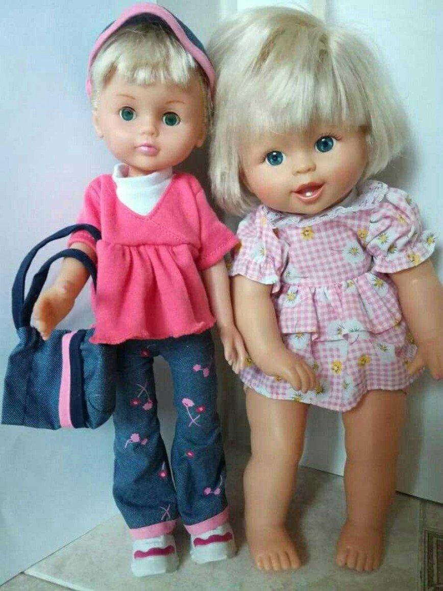 Кукла в розовом платье с мягким телом, каждая по 400 руб. ПРОДАНЫ.