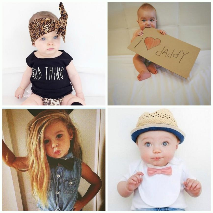 Милые дети в  Instagram