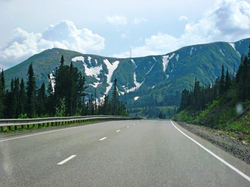 Автор: Багуля, Фотозал: Родные просторы, Саянские горы в июле. Снег на сопках. Красота!!!