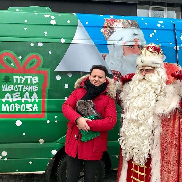 Александр Олешко похвалился раритетным Дедом Морозом