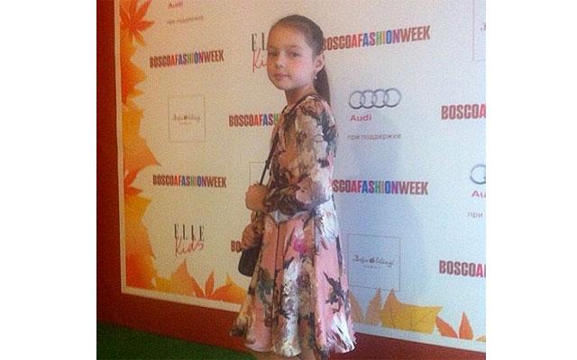 Анастасия Волочкова вывела дочь на подиум
