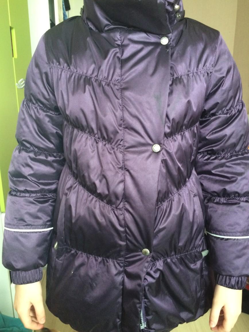 куртка Керри Люкс, размер 140, утеплитель 330 гр, 4000 руб