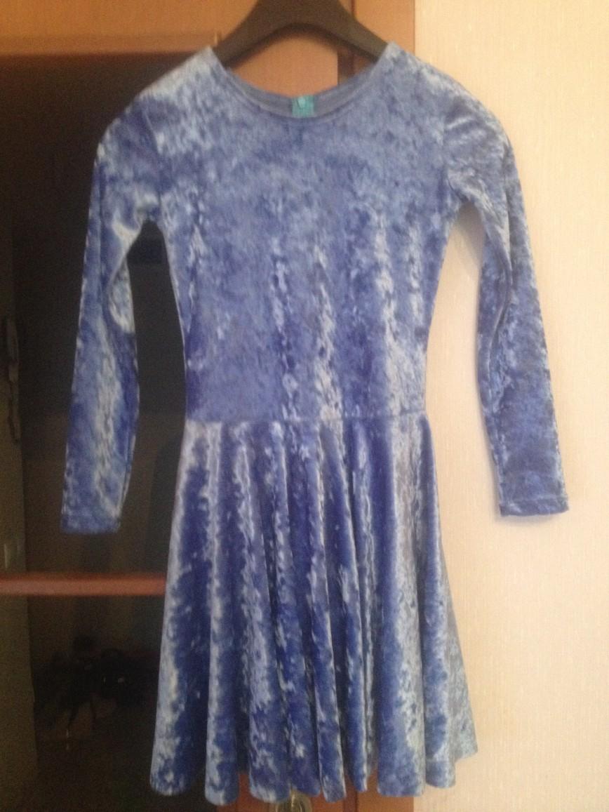 рейтинговое платье для бальных танцев, 8-9 лет, 1800 руб